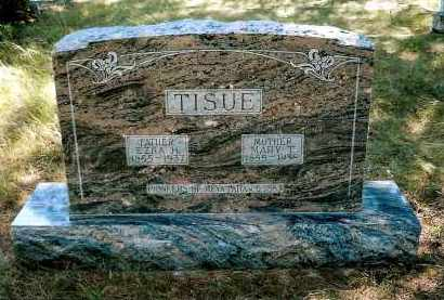 TISUE, MARY T. - Keya Paha County, Nebraska | MARY T. TISUE - Nebraska Gravestone Photos