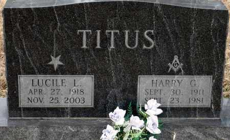 TITUS, HARRY G. - Keya Paha County, Nebraska   HARRY G. TITUS - Nebraska Gravestone Photos