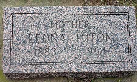 DEWITT TUTON, LEONA - Keya Paha County, Nebraska   LEONA DEWITT TUTON - Nebraska Gravestone Photos