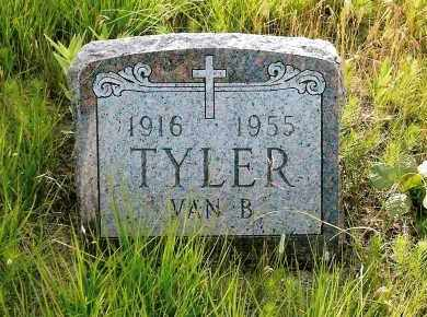 TYLER, VAN B. - Keya Paha County, Nebraska | VAN B. TYLER - Nebraska Gravestone Photos