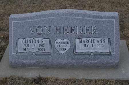 VONHEEDER, CLINTON R. - Keya Paha County, Nebraska | CLINTON R. VONHEEDER - Nebraska Gravestone Photos