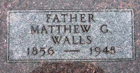 WALLS, MATTHEW G. - Keya Paha County, Nebraska   MATTHEW G. WALLS - Nebraska Gravestone Photos