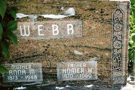 WEBB, ANNA M. - Keya Paha County, Nebraska | ANNA M. WEBB - Nebraska Gravestone Photos