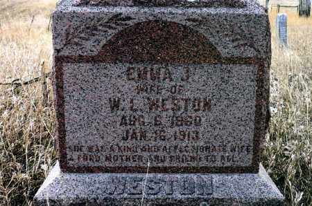 WILLIAMS WESTON, EMMA J. - Keya Paha County, Nebraska | EMMA J. WILLIAMS WESTON - Nebraska Gravestone Photos