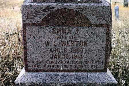 WESTON, EMMA J. - Keya Paha County, Nebraska   EMMA J. WESTON - Nebraska Gravestone Photos