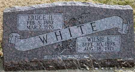 JACKSON WHITE, WILSIE E. - Keya Paha County, Nebraska   WILSIE E. JACKSON WHITE - Nebraska Gravestone Photos