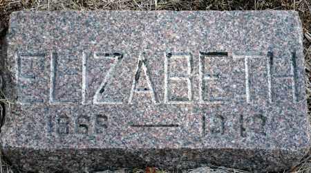 WHITE, ELIZABETH - Keya Paha County, Nebraska | ELIZABETH WHITE - Nebraska Gravestone Photos