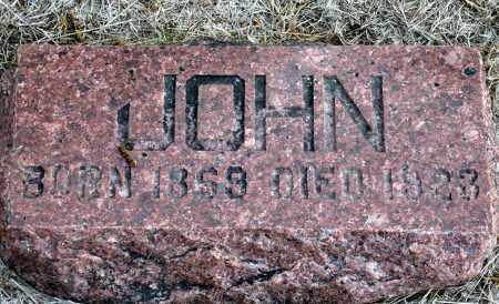 WHITE, JOHN - Keya Paha County, Nebraska | JOHN WHITE - Nebraska Gravestone Photos
