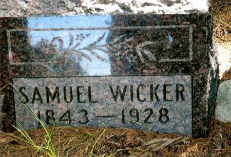 WICKER, SAMUEL - Keya Paha County, Nebraska   SAMUEL WICKER - Nebraska Gravestone Photos