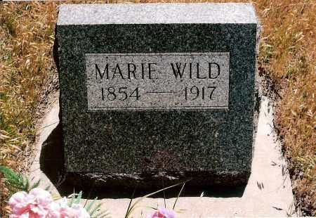 WILD, MARIE - Keya Paha County, Nebraska | MARIE WILD - Nebraska Gravestone Photos