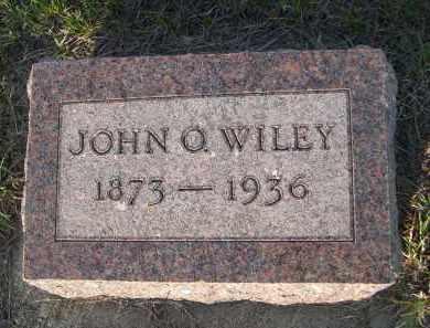 WILEY, JOHN O. - Keya Paha County, Nebraska   JOHN O. WILEY - Nebraska Gravestone Photos