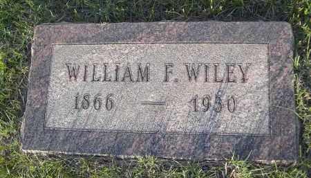 WILEY, WILLAIM F. - Keya Paha County, Nebraska | WILLAIM F. WILEY - Nebraska Gravestone Photos