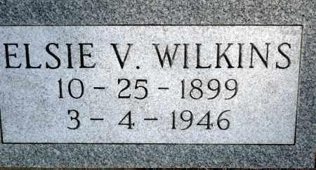WILKINS, ELSIE V. - Keya Paha County, Nebraska | ELSIE V. WILKINS - Nebraska Gravestone Photos