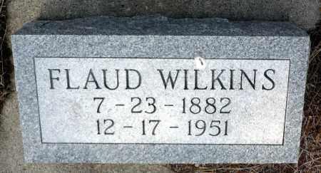 WILKINS, FLAUD - Keya Paha County, Nebraska | FLAUD WILKINS - Nebraska Gravestone Photos