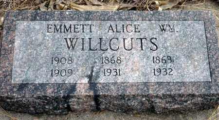 WILLCUTS, EMMETT - Keya Paha County, Nebraska | EMMETT WILLCUTS - Nebraska Gravestone Photos