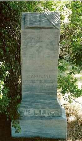 WILLIAMS, CAROLINE - Keya Paha County, Nebraska   CAROLINE WILLIAMS - Nebraska Gravestone Photos