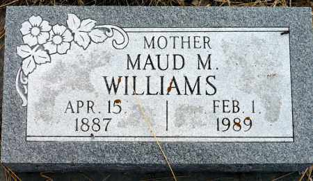 CARR WILLIAMS, MAUD M. - Keya Paha County, Nebraska | MAUD M. CARR WILLIAMS - Nebraska Gravestone Photos