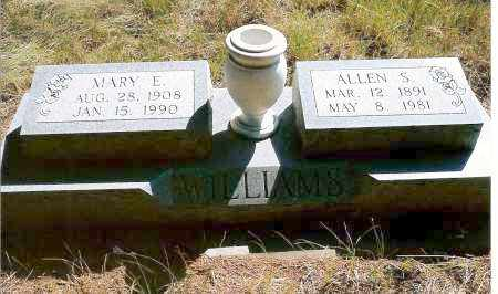 WILLIAMS, ALLEN S. - Keya Paha County, Nebraska | ALLEN S. WILLIAMS - Nebraska Gravestone Photos
