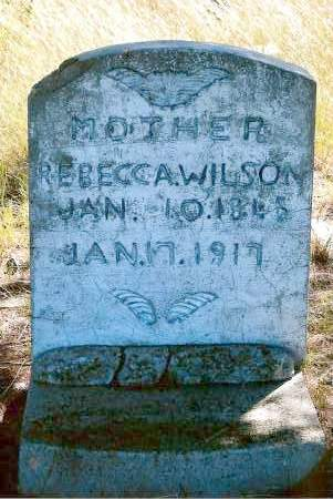 WILSON, REBECCA - Keya Paha County, Nebraska | REBECCA WILSON - Nebraska Gravestone Photos