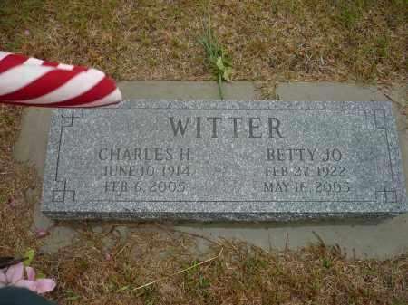 MERICLE WITTER, BETTY JO - Keya Paha County, Nebraska   BETTY JO MERICLE WITTER - Nebraska Gravestone Photos