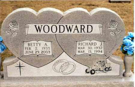 WOODWARD, BETTY A. - Keya Paha County, Nebraska | BETTY A. WOODWARD - Nebraska Gravestone Photos