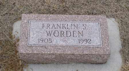 WORDEN, FRANKLIN S. - Keya Paha County, Nebraska | FRANKLIN S. WORDEN - Nebraska Gravestone Photos