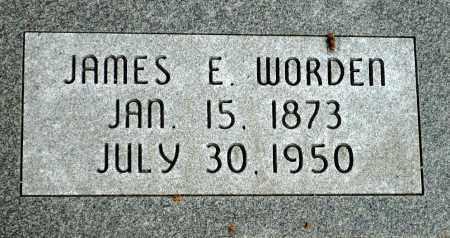 WORDEN, JAMES E. - Keya Paha County, Nebraska | JAMES E. WORDEN - Nebraska Gravestone Photos