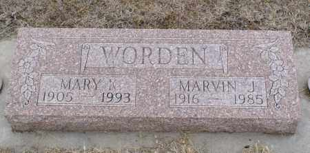 WARDEN, MARVIN J. - Keya Paha County, Nebraska | MARVIN J. WARDEN - Nebraska Gravestone Photos