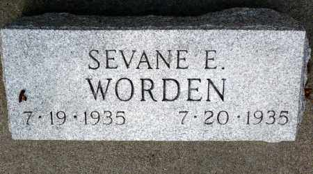 WORDEN, SEVANE E. - Keya Paha County, Nebraska | SEVANE E. WORDEN - Nebraska Gravestone Photos