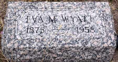 WOOLHISER WYATT, EVA M. - Keya Paha County, Nebraska | EVA M. WOOLHISER WYATT - Nebraska Gravestone Photos