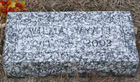 WYATT, WILMA - Keya Paha County, Nebraska   WILMA WYATT - Nebraska Gravestone Photos