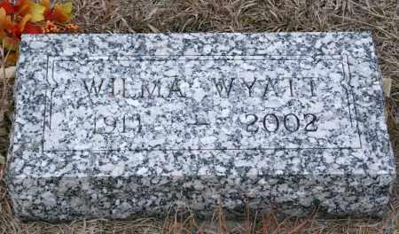 WYATT, WILMA - Keya Paha County, Nebraska | WILMA WYATT - Nebraska Gravestone Photos