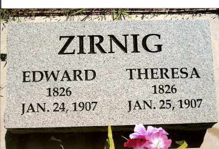 ZIRNIG, THERESA - Keya Paha County, Nebraska | THERESA ZIRNIG - Nebraska Gravestone Photos