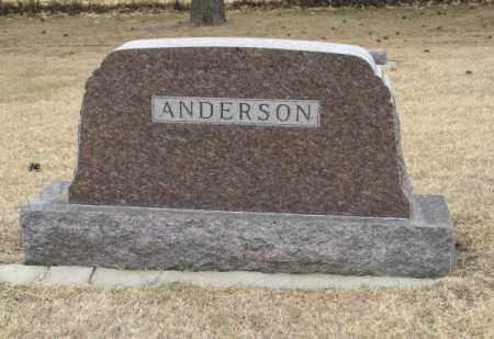 ANDERSON, (FAMILY MONUMENT) - Knox County, Nebraska | (FAMILY MONUMENT) ANDERSON - Nebraska Gravestone Photos