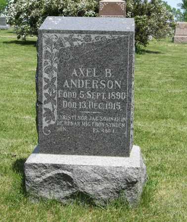 ANDERSON, AXEL B. - Knox County, Nebraska | AXEL B. ANDERSON - Nebraska Gravestone Photos