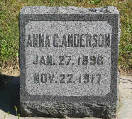 ANDERSON, ANNA C. - Knox County, Nebraska | ANNA C. ANDERSON - Nebraska Gravestone Photos