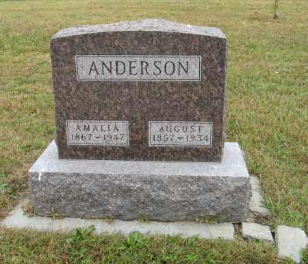 ANDERSON, AUGUST - Knox County, Nebraska   AUGUST ANDERSON - Nebraska Gravestone Photos