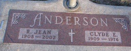 ANDERSON, R. JEAN - Knox County, Nebraska   R. JEAN ANDERSON - Nebraska Gravestone Photos
