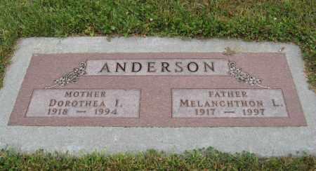 ANDERSON, DOROTHEA I. - Knox County, Nebraska | DOROTHEA I. ANDERSON - Nebraska Gravestone Photos