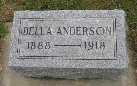 ANDERSON, DELLA - Knox County, Nebraska | DELLA ANDERSON - Nebraska Gravestone Photos