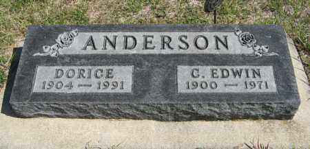 ANDERSON, DORICE - Knox County, Nebraska | DORICE ANDERSON - Nebraska Gravestone Photos