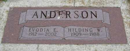 ANDERSON, HILDING W. - Knox County, Nebraska   HILDING W. ANDERSON - Nebraska Gravestone Photos