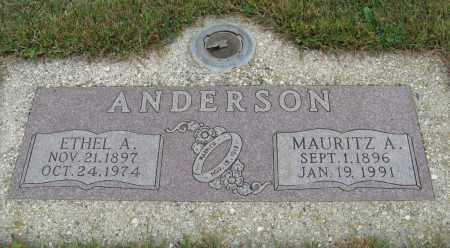 ANDERSON, ETHEL A. - Knox County, Nebraska | ETHEL A. ANDERSON - Nebraska Gravestone Photos