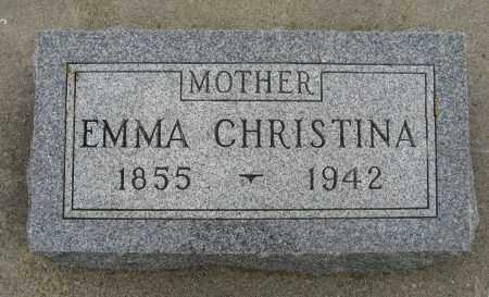 ANDERSON, EMMA CHRISTINA - Knox County, Nebraska   EMMA CHRISTINA ANDERSON - Nebraska Gravestone Photos