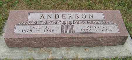 ANDERSON, EMIL J. - Knox County, Nebraska | EMIL J. ANDERSON - Nebraska Gravestone Photos