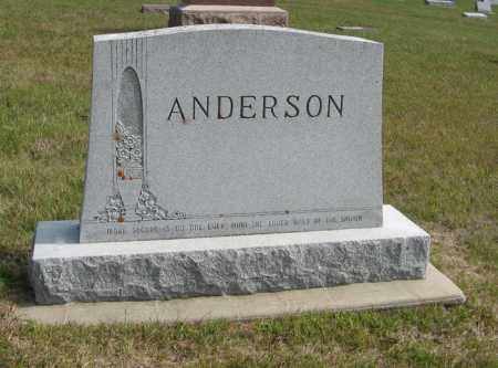 ANDERSON, FAMILY - Knox County, Nebraska | FAMILY ANDERSON - Nebraska Gravestone Photos