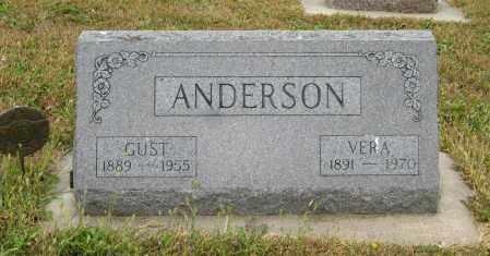 ANDERSON, VERA - Knox County, Nebraska | VERA ANDERSON - Nebraska Gravestone Photos
