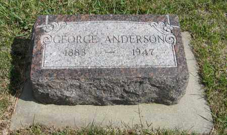 ANDERSON, GEORGE - Knox County, Nebraska | GEORGE ANDERSON - Nebraska Gravestone Photos