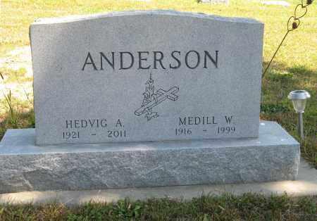 ANDERSON, HEDVIG A. - Knox County, Nebraska   HEDVIG A. ANDERSON - Nebraska Gravestone Photos