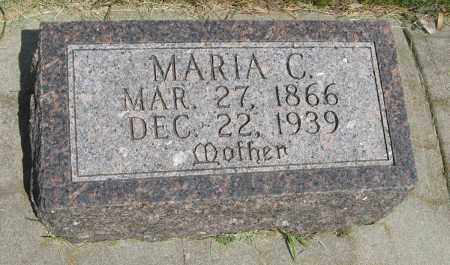 ANDERSON, MARIA C. - Knox County, Nebraska   MARIA C. ANDERSON - Nebraska Gravestone Photos